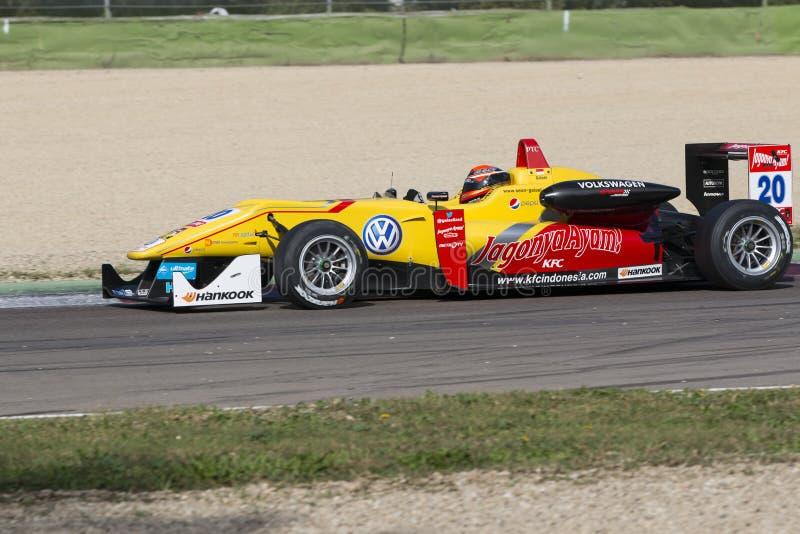 Campeonato do europeu de Fia Formula 3 imagem de stock