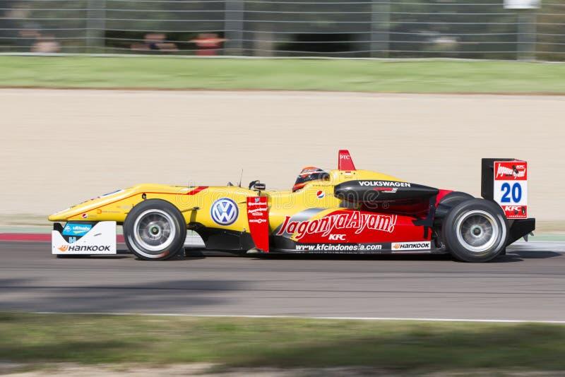 Campeonato do europeu de Fia Formula 3 foto de stock royalty free