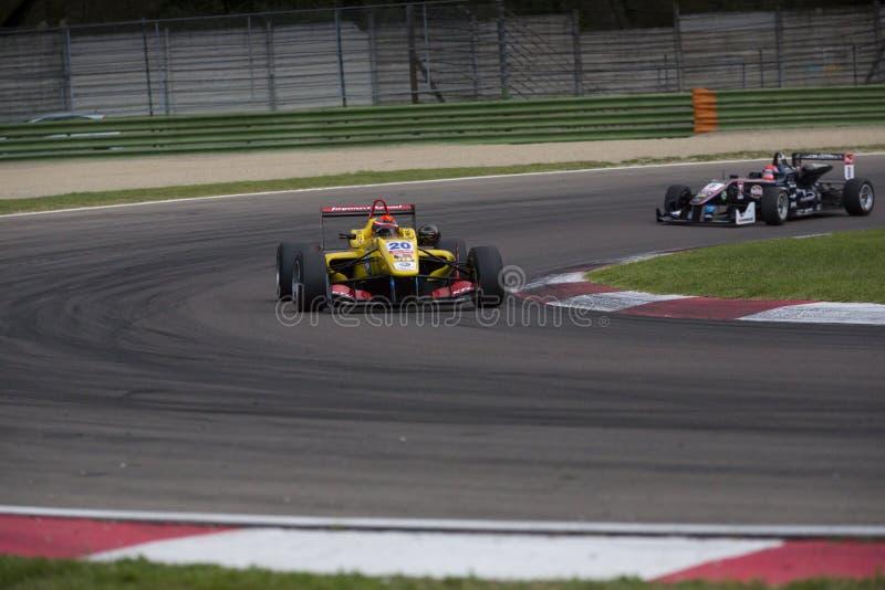 Campeonato do europeu de Fia Formula 3 foto de stock