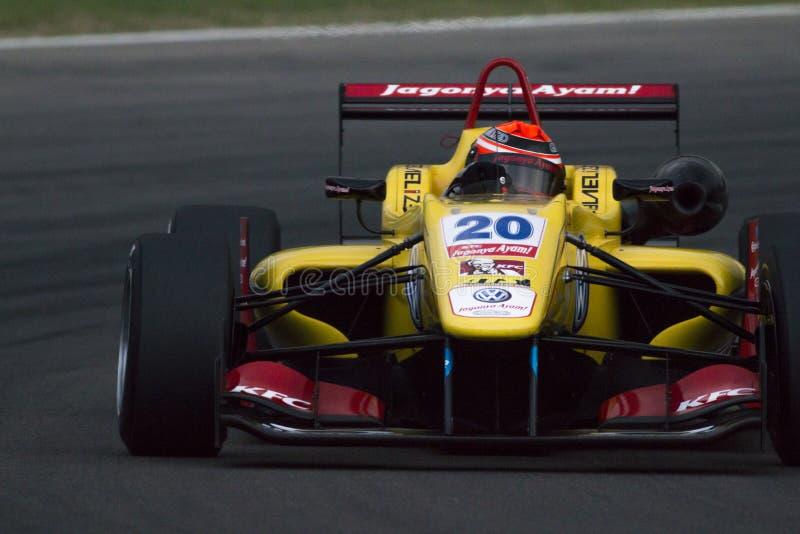Campeonato do europeu de Fia Formula 3 imagem de stock royalty free