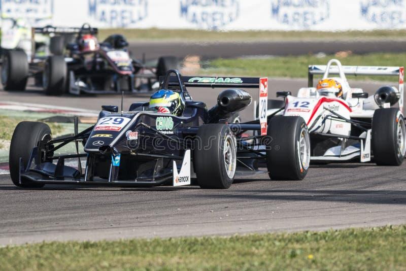 Campeonato do europeu de Fia Formula 3 fotografia de stock royalty free