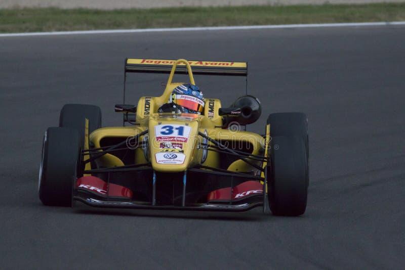 Campeonato do europeu de Fia Formula 3 imagens de stock royalty free