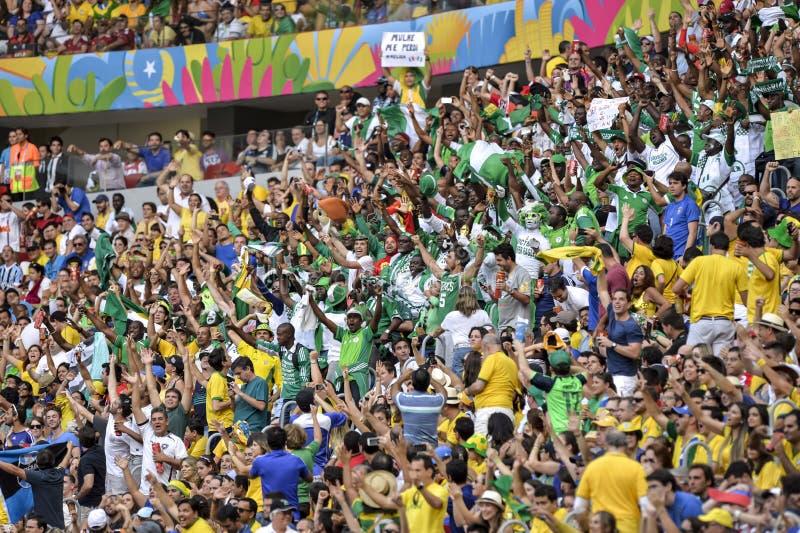 Campeonato do mundo 2014 foto de stock
