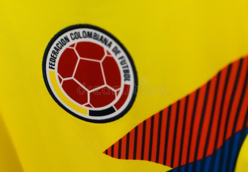 Campeonato do mundo 2018 de FIFA foto de stock