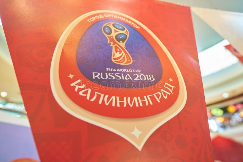 Campeonato do mundo 2018 de FIFA foto de stock royalty free
