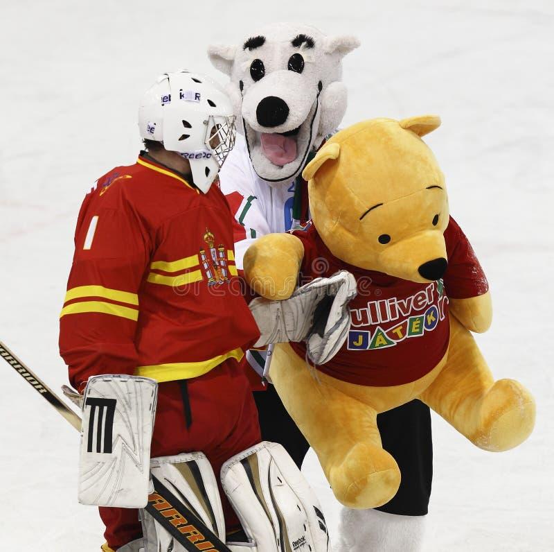 Campeonato do mundo de IIHF imagens de stock