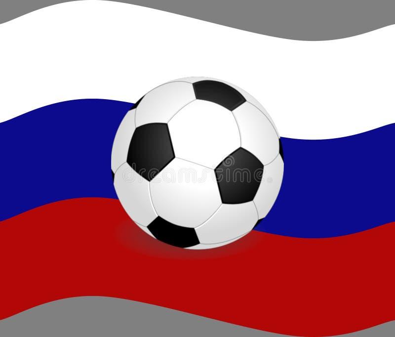 Campeonato do mundo em Rússia - símbolos fotografia de stock