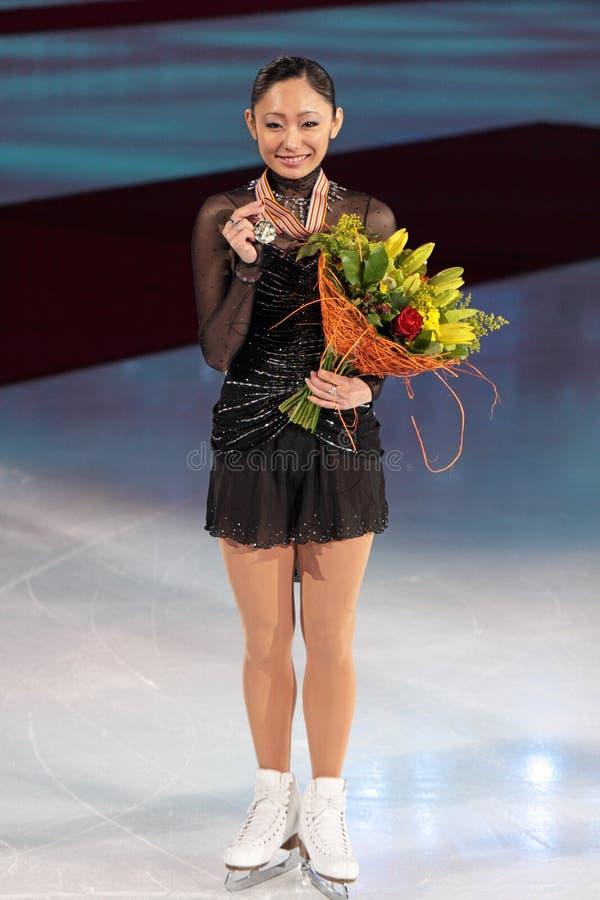 Campeonato do mundo na figura patinagem 2011 imagens de stock royalty free