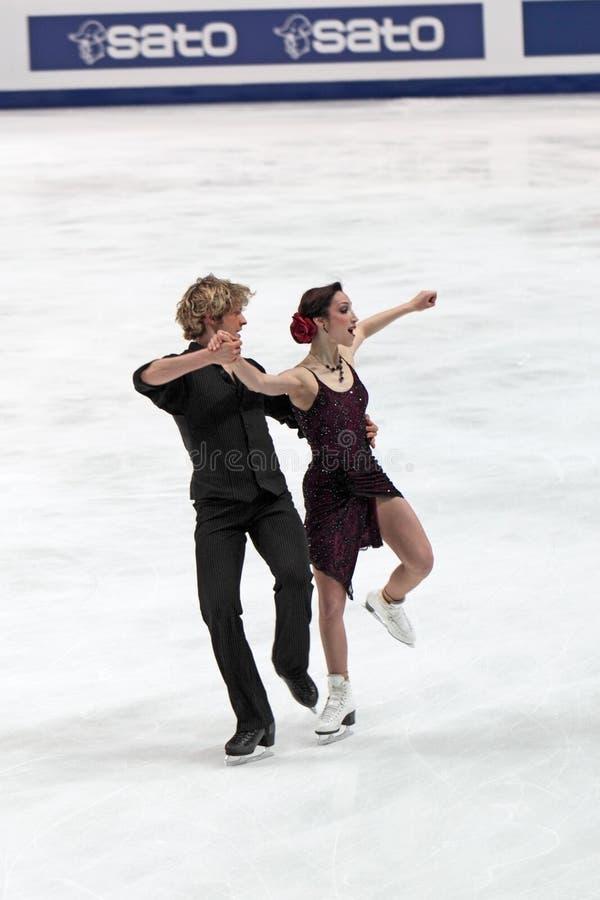 Campeonato do mundo na figura patinagem 2011 imagem de stock