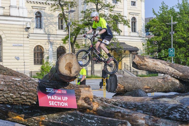 Campeonato do mundo nas bicicletas experimentais fotografia de stock royalty free