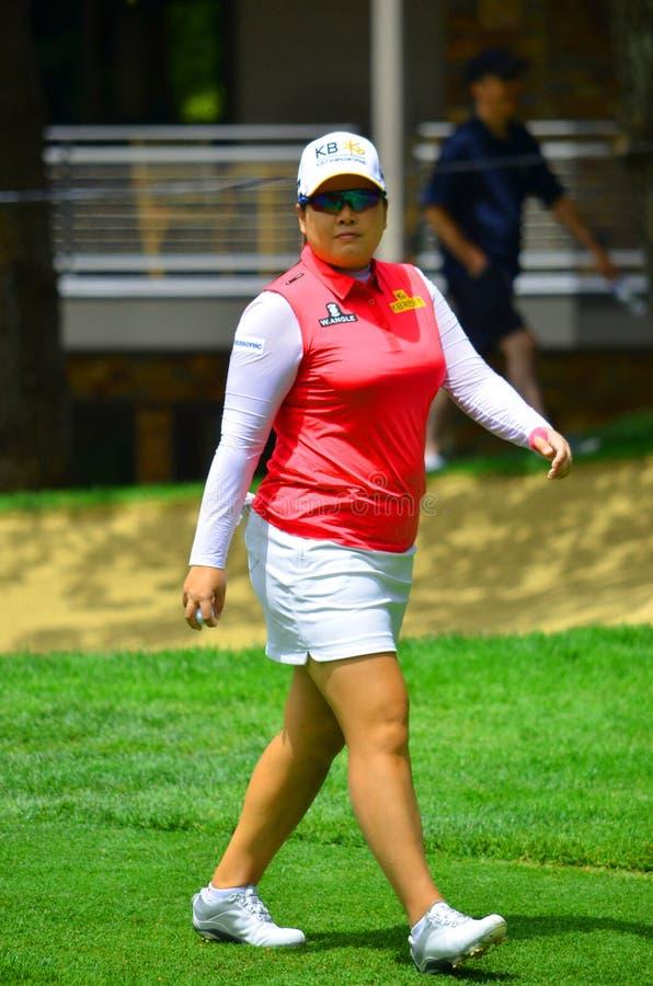 Campeonato 2016 do PGA das mulheres de KPMG do parque de Inbee do jogador de golfe profissional fotos de stock