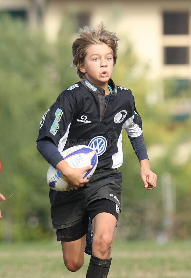 Campeonato do rugby da juventude fotografia de stock royalty free