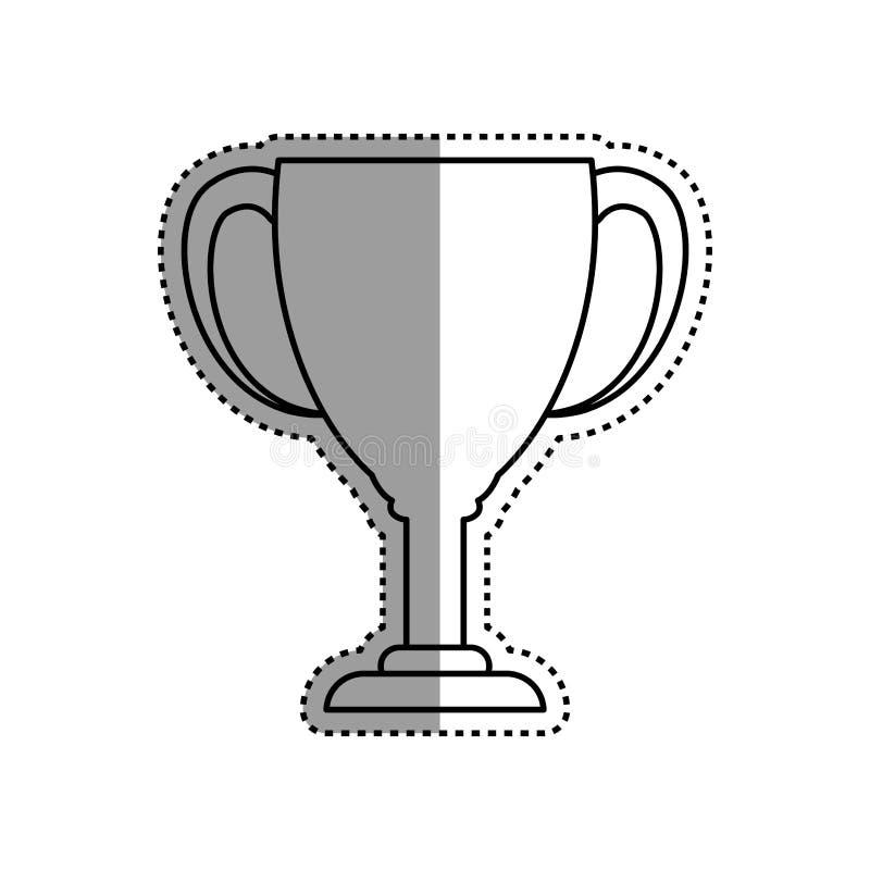 Campeonato do troféu do copo ilustração stock