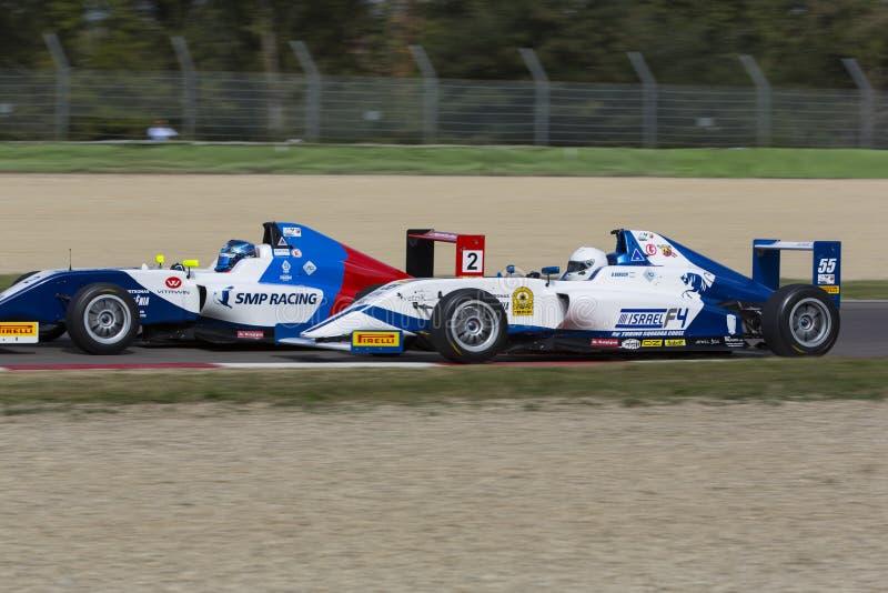 Campeonato F4 italiano fotografia de stock royalty free