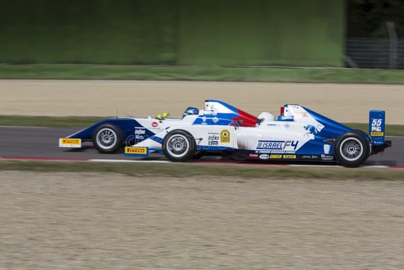 Campeonato F4 italiano foto de stock royalty free