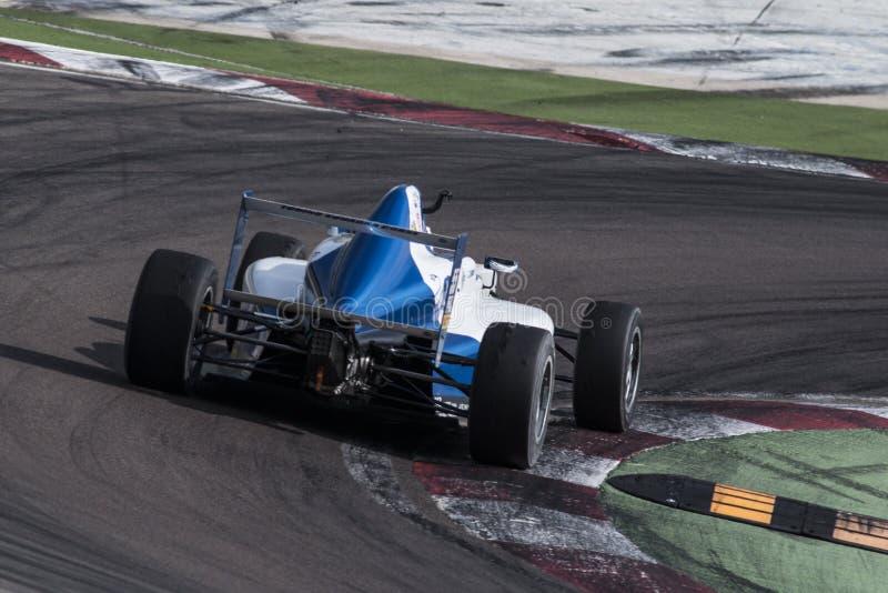 Campeonato F4 italiano fotografia de stock