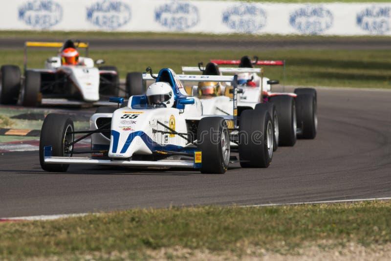 Campeonato F4 italiano imagens de stock
