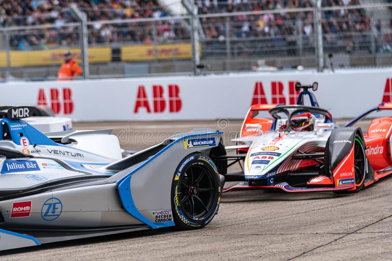 Campeonato FIA de Automóveis de Fórmula E-prix fotos de stock