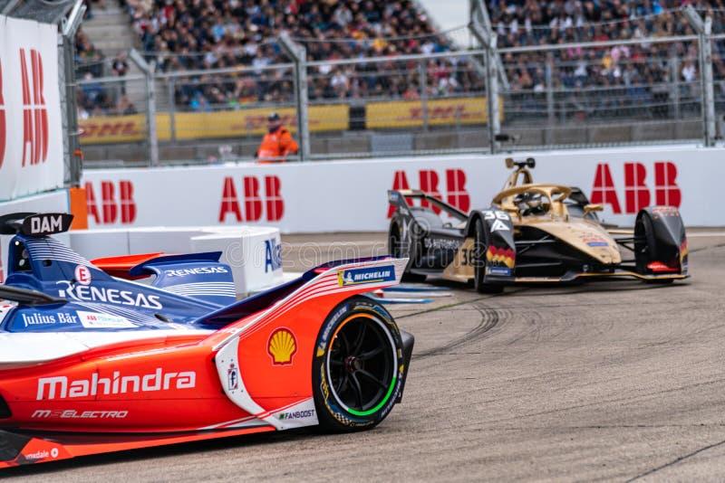 Campeonato FIA de Automóveis de Fórmula E-prix foto de stock