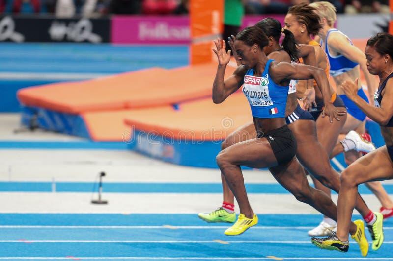 Campeonato interior europeo 2013 del atletismo imagen de archivo