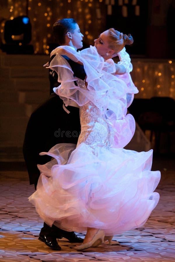Campeonato nacional da dança de salão de baile imagem de stock royalty free