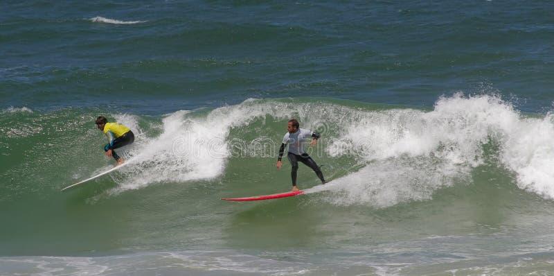 Campeonato português de Longboard, Diogo Goncalves fotografia de stock