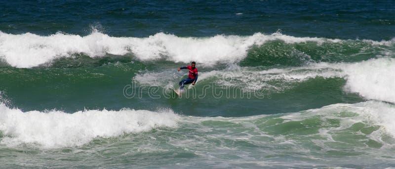 Campeonato português de Longboard, Gustavo Froufe fotos de stock royalty free
