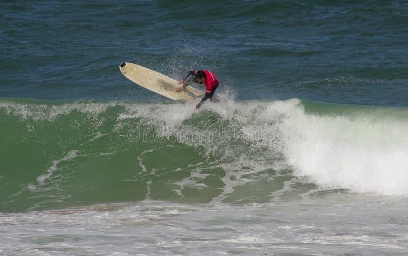 Campeonato português de Longboard, Joao Brogueira imagens de stock