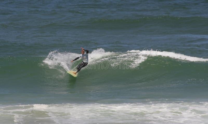 Campeonato português de Longboard, Kasper Nuland foto de stock