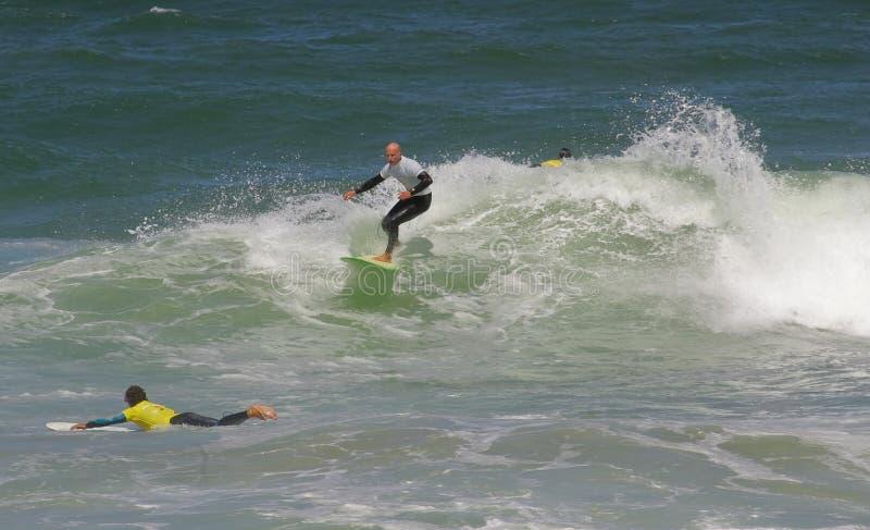 Campeonato português de Longboard, Kasper Nuland fotografia de stock
