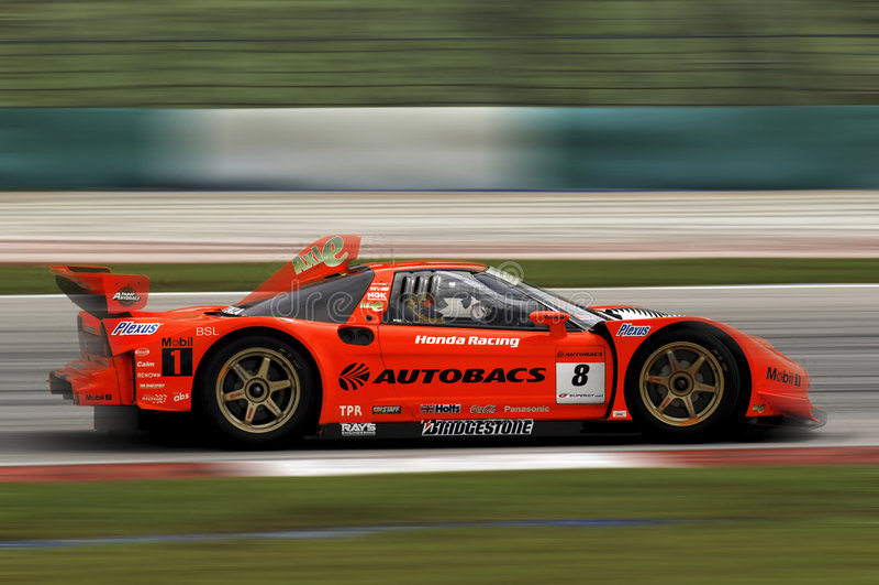Campeonato super 2006 de Japão GT foto de stock
