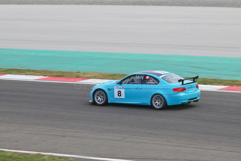 Campeonato turco del coche que viaja 2012 fotografía de archivo