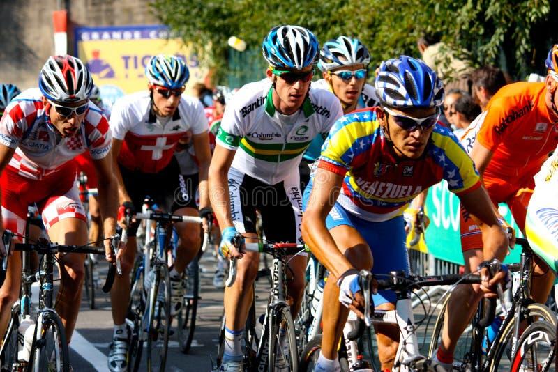 Campeonatos 2008 del mundo del camino de Uci foto de archivo