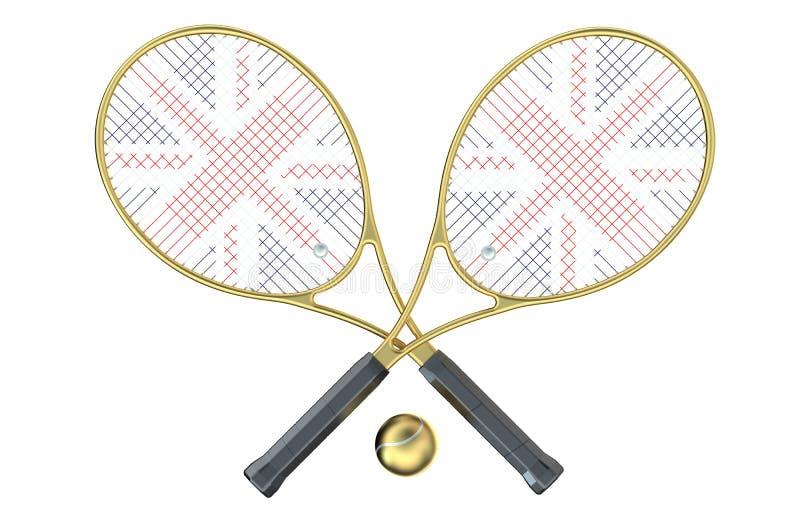 Campeonatos de Wimbledon stock de ilustración
