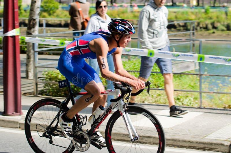 Download Campeonatos Del Mundo Del Duathlon Foto de archivo editorial - Imagen de deportes, adulto: 41900533