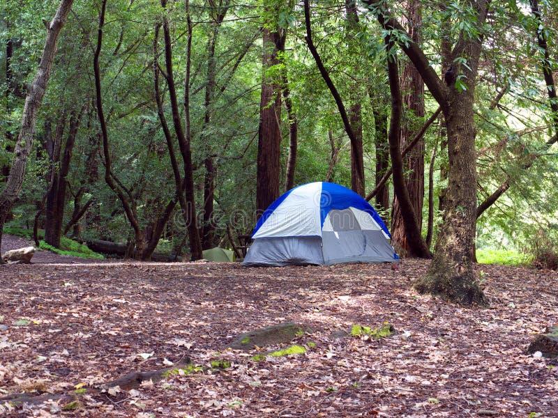 Camper De Tente Photos libres de droits