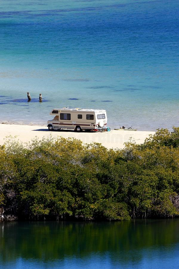Download Camper I stock image. Image of ocean, beach, station - 22936821