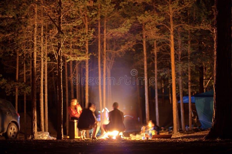 Camper in Olkhon Insel stockbild