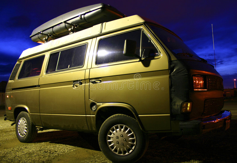 Camper Van Royalty Free Stock Photos