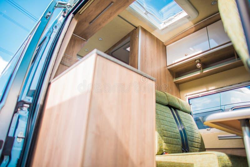 Camper Van RV Interior στοκ φωτογραφία