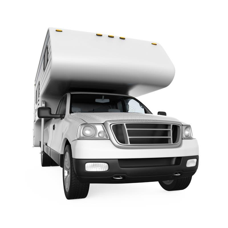 Camper Van stock illustration