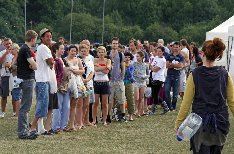 Download Campers At Hop Farm Music Festival Editorial Stock Image - Image: 13119314