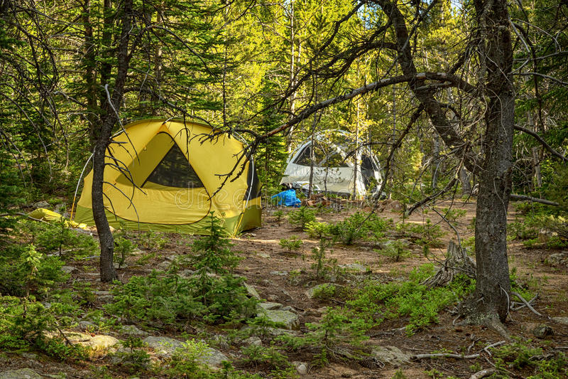Campers Paradise royalty free stock photography
