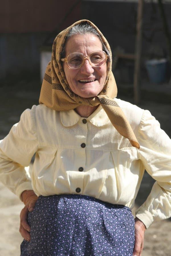 Campesino rumano imagen de archivo libre de regalías