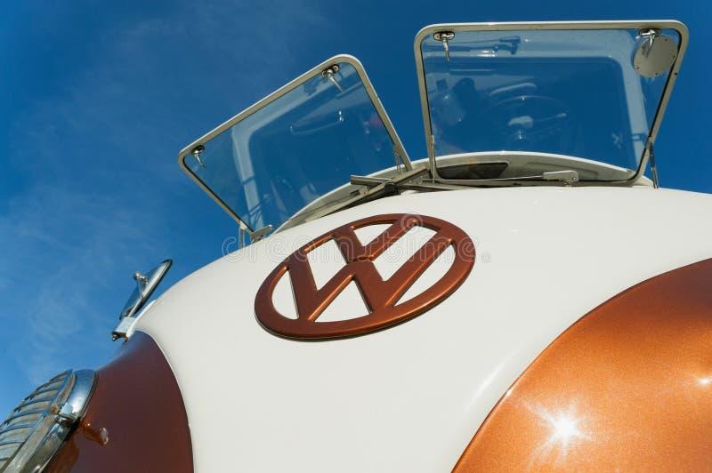 Campeur de VW photographie stock libre de droits