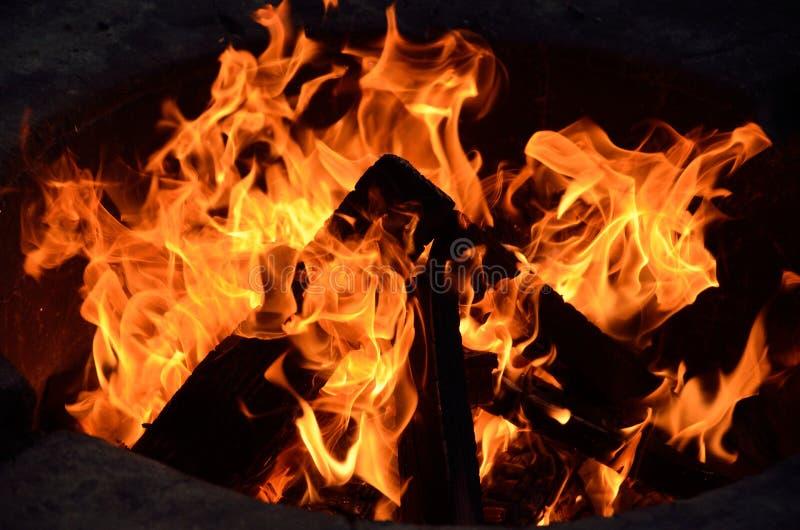 Campfire_1 obraz stock