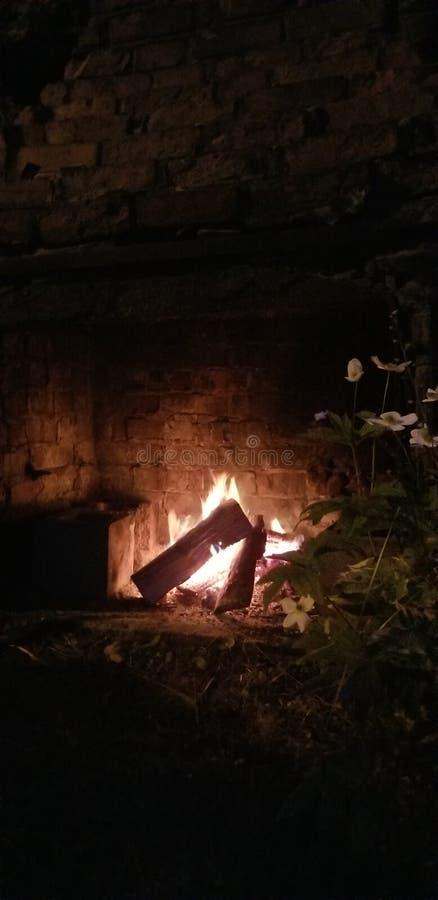 Campfire fotografia stock