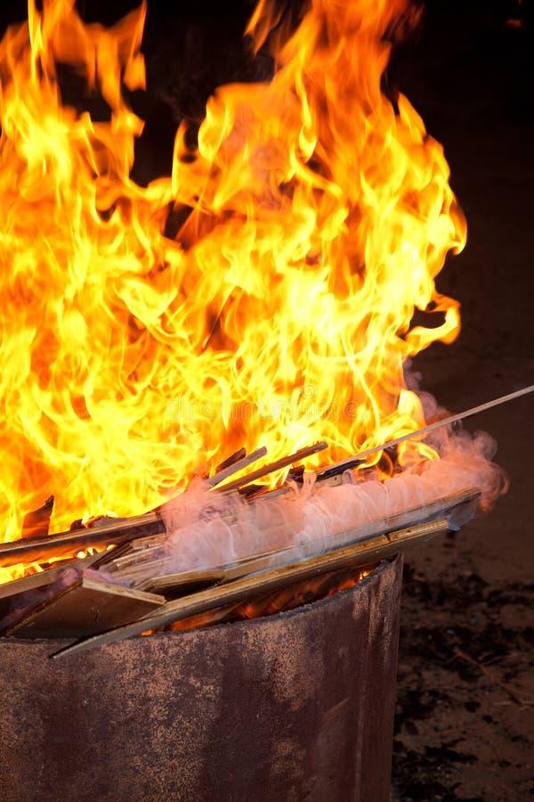 Download Campfire stock image. Image of warm, campfire, blaze - 18090719