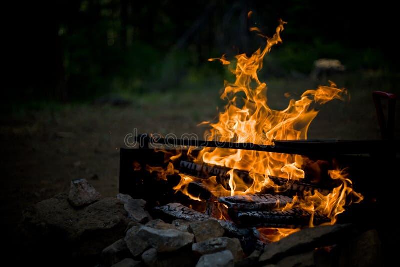 campfire 2 arkivfoto