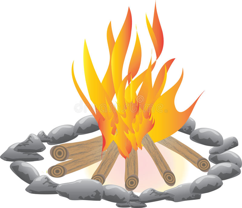 campfire stock illustratie illustratie bestaande uit kamp 44731564. Black Bedroom Furniture Sets. Home Design Ideas